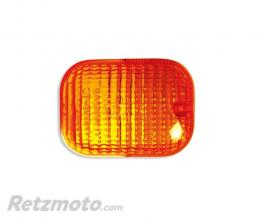 V-PARTS Cabochon de clignotant V PARTS orange type origine Peugeot Trekker 50
