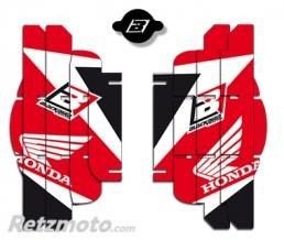BLACKBIRD Kit déco de cache radiateur BLACKBIRD Dream Graphic 3 rouge Honda CRF250R