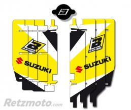 BLACKBIRD Kit déco de cache radiateur BLACKBIRD Dream Graphic 3 jaune Suzuki RM-Z250