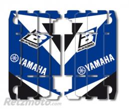 BLACKBIRD Kit déco de cache radiateur BLACKBIRD Dream Graphic 3 bleu Yamaha YZ125/250