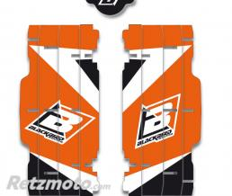 BLACKBIRD Kit déco de cache radiateur BLACKBIRD Dream Graphic 3 orange KTM SX/SX-F