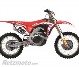 BLACKBIRD Kit déco de cache radiateur BLACKBIRD Replica Team HRC 2017 Honda CRF250R