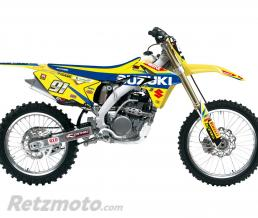 BLACKBIRD Kit déco de cache radiateur BLACKBIRD Replica Suzuki World MXGP 2017 Suzuki RM-Z250