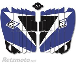 BLACKBIRD Kit déco de cache radiateur BLACKBIRD Dream Graphic 3 bleu Yamaha YZ450F