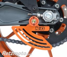 R&G Protège couronne R&G RACING aluminium orange KTM RC125/200/390
