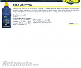 PUTOLINE Huile Gear light 75W 1L PUTOLINE